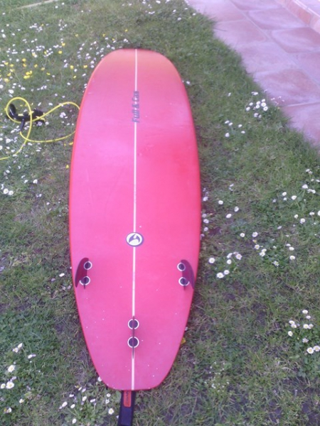 Tablas de surf - evolutivo cola