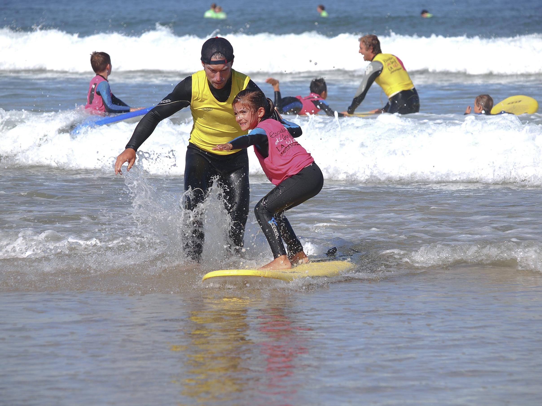 Cursos de surf para niños. Escuela de surf en Cantabria