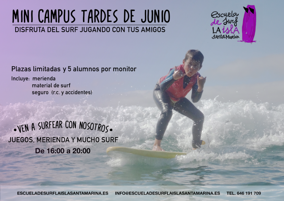 mini campus tardes de junio
